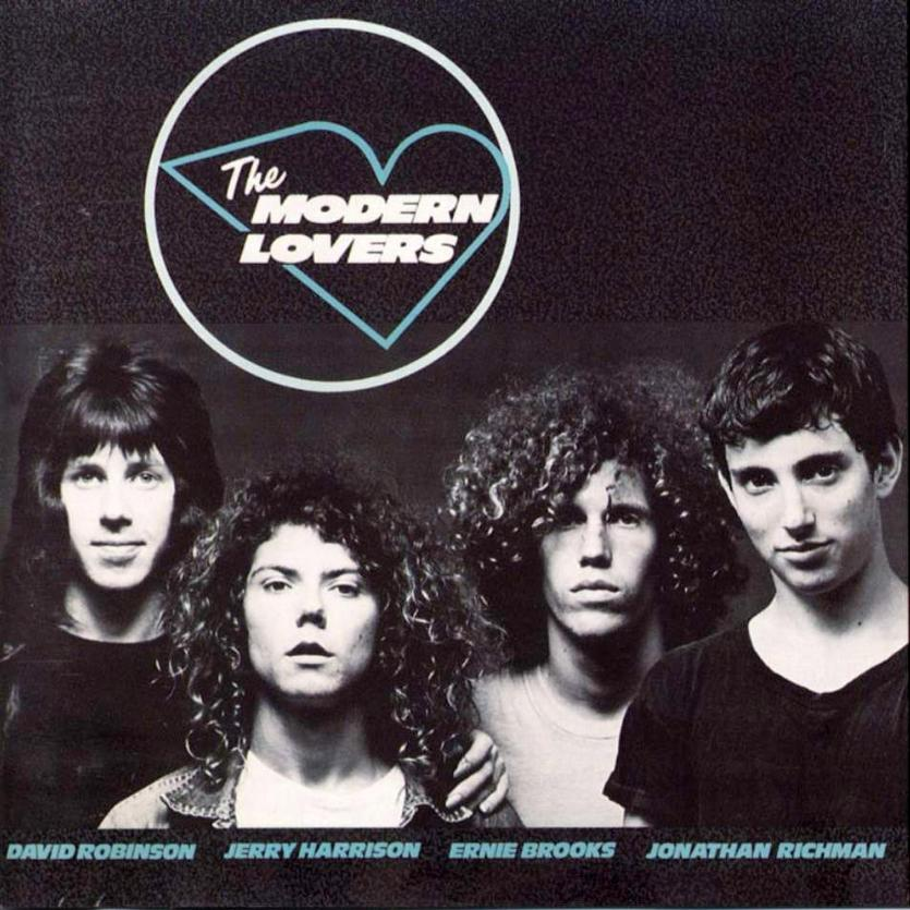 "The Modern Lovers' 1976 album with the single ""Roadrunner."""